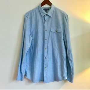 Other - Broletto Blue Button Down Shirt